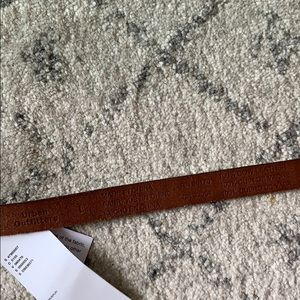 Urban Outfitters Accessories - Urban Outfitters Brown Leather Belt